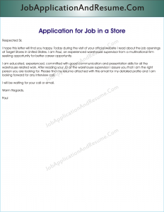 Application_for_a_Job_in_a_Store-232x300 Sample Application Letter For Supermarket Job on for dispatch rider, for teaching, for server, to write, for students, nurse cover, for record centre,